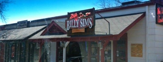 Billy Sims BBQ is one of day.