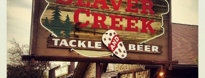 Beaver Creek Tackle and Beer is one of personal lunchdinner places.