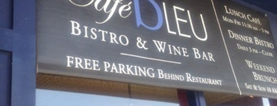 Café Bleu is one of SD: Food & Drinks.