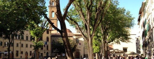 Piazza Santo Spirito is one of Florence.
