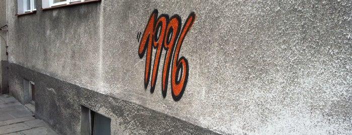 Street Art - Graffiti - 1996 vol II is one of Street Art w Krakowie: Graffiti, Murale, KResKi.
