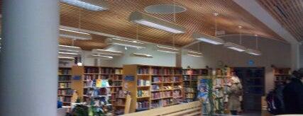 Munkkiniemen kirjasto is one of HelMet-kirjaston palvelupisteet.