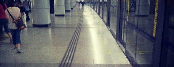 Shanghai Indoor Stadium Metro Stn. is one of Metro Shanghai.