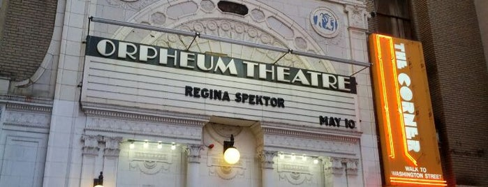 Orpheum Theatre is one of ** my list **.