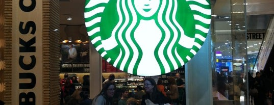 Starbucks is one of Coffee shops I've been to.