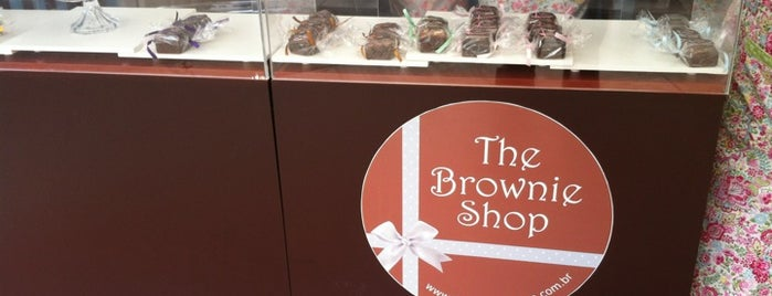 The Brownie Shop is one of Lugares agora CONHECIDOS.