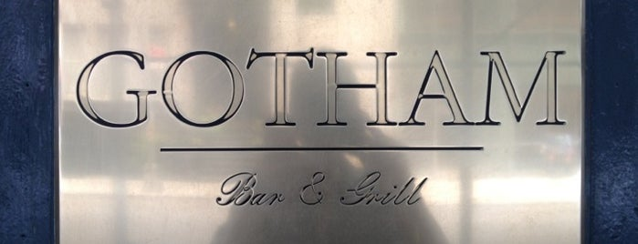 Gotham Bar and Grill is one of places that rock!.