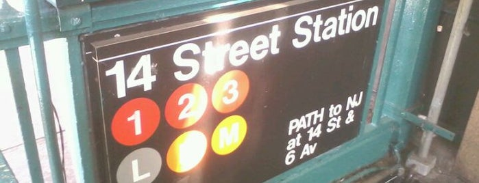 MTA Subway - 14th St (1/2/3) is one of MTA Subway - 2 Line.
