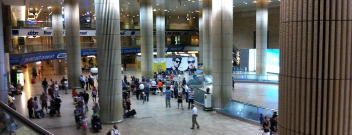 Ben Gurion International Airport (TLV) is one of AIRPORTS world.