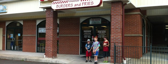 Five Guys is one of Trumbull CT.