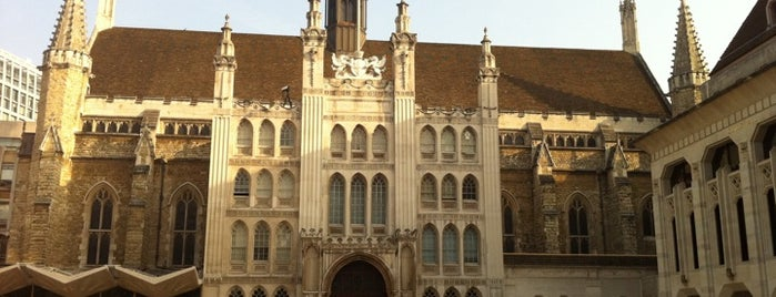 Guildhall is one of Around The World: London.