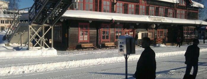 Gällivare Station is one of Tågstationer - Sverige.