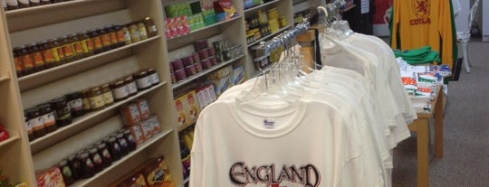 The Corner Shop British Groceries and Gifts is one of The Chad.