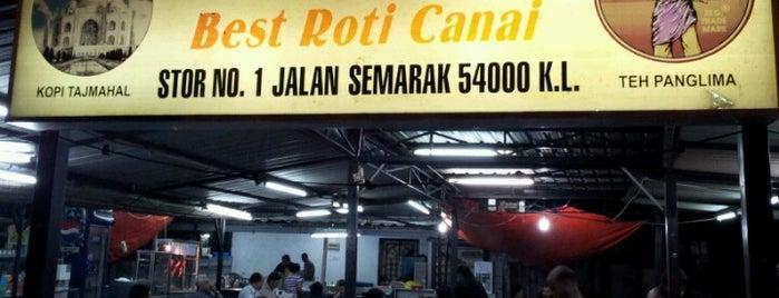 Valentine Roti is one of Must-visit Food in Kuala Lumpur.