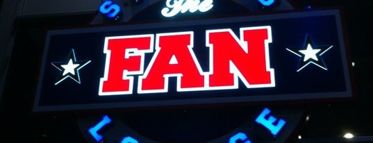 The Fan Sports Lounge is one of Central Dallas Lunch, Dinner & Libations.