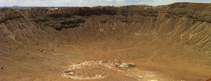 Barringer Meteorite Crater is one of Road Trip.