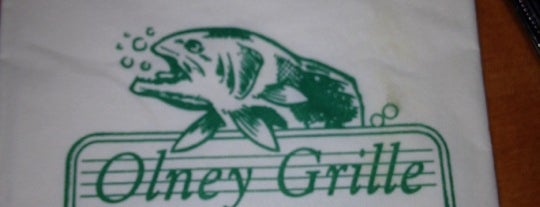 Olney Grille Restaurant is one of My Great Eats List.