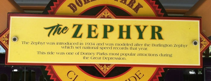 Zephyr Railroad is one of Favorite Arts & Entertainment.