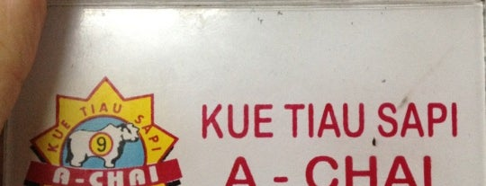 """Kwetiaw Sapi """"A-Chai"""" is one of Favorite Food."""