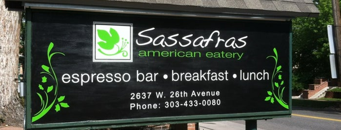 Sassafras American Eatery is one of Colorado.