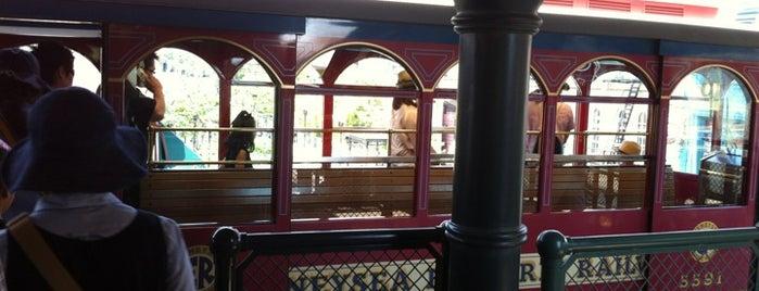 DisneySea Electric Railway is one of Disney.