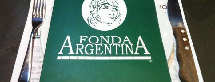 Fonda Argentina is one of Argentina.