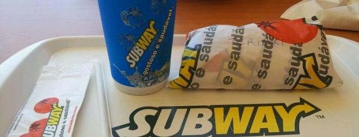 Subway is one of Fátima.