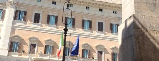 Palazzo Montecitorio is one of Roma.