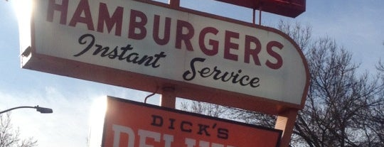 Dick's Drive-In is one of Best Cheap Food in Seattle.