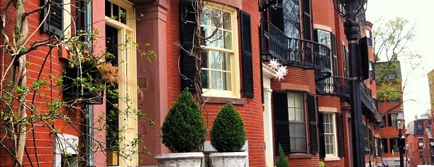 Louisburg Square is one of Nearby Neighborhoods: Beacon Hill.