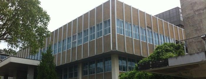 Kyushu University Central Library (Hakozaki) is one of 九大.