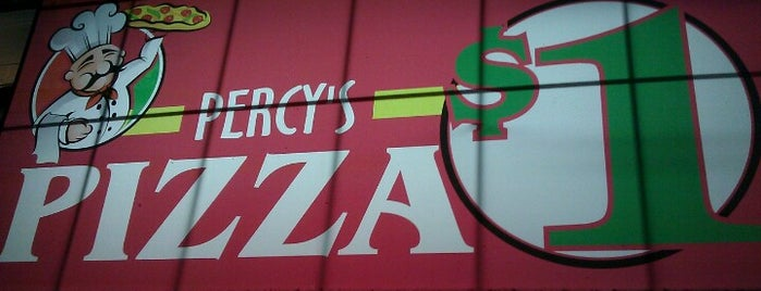 Percy's Pizza is one of Laturr / Dolla Slice.