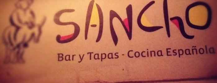 Sancho Bar y Tapas is one of em Sampa.