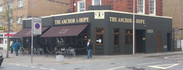 The Anchor & Hope is one of zeus.