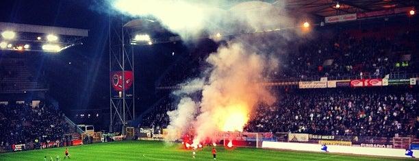 Stade du Pays de Charleroi is one of UEFA European Championship finals.