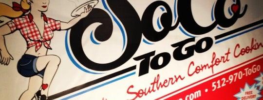 SoCo ToGo is one of Dog Friendly Restaurants.