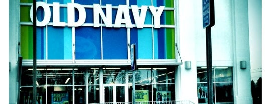 Old Navy is one of favorite stores.