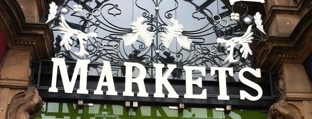 Leeds Kirkgate Market is one of Leeds/York.