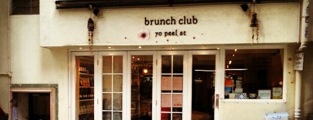 Brunch Club is one of Hong Kong.