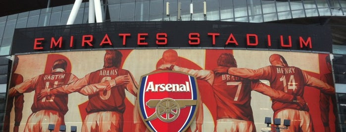 All Arsenal (Shop) is one of Travel.