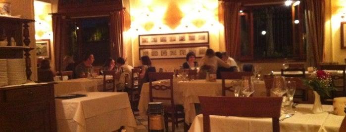 Ristorante Villa Paganini is one of Roma - a must! = Peter's Fav's.
