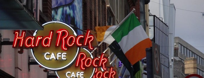 Hard Rock Cafe Dublin is one of Dublin - the ultimate guide.