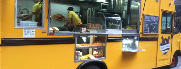 Wafels & Dinges - Vedette Cart is one of New York's Finest: Food Trucks.