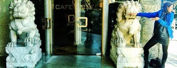 Café Saigón is one of Restaurantes en Madrid.