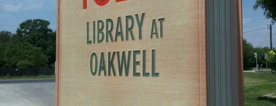 Tobin Library at Oakwell is one of Ya es hora-Libera Tu Voz.