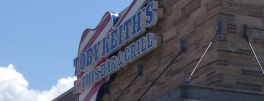 Toby Keith's I Love This Bar And Grill is one of Restaurants & Bars at Patriot Place.