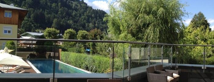 MAVIDA Wellnesshotel und Sport Zell am See is one of Die schönsten Thermen und Wellnesshotels.