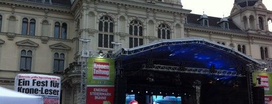 Festivalzentrum springfestival is one of Springfestival/Graz-Trip 2012.