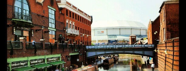 Brindleyplace is one of Guide to Birmingham's Best Spots.
