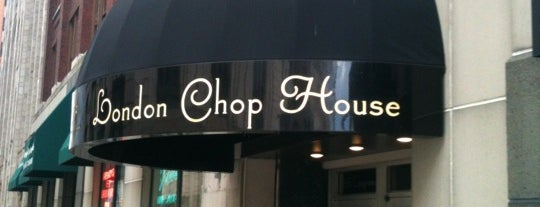 London Chop House is one of The 15 Best Fancy Places in Detroit.